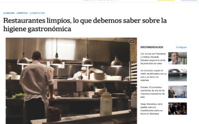Cocina Cuidada en La Nación